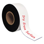 "Bi-silque Visual Communication Product Inc Dry Erase Magnetic Tape Roll, White, 3"" x 50 Ft."