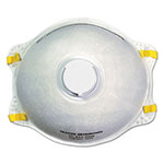 Boardwalk N95 Disposable Respirator With Valve, 12/Carton