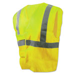 Boardwalk Class 2 Safety Vests, Lime Green/Silver, Standard