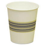 Boardwalk 10 Oz Hot Paper Cups, Blue/Tan, Pack of 1000