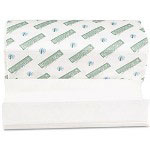 Boardwalk Green Plus Folded Paper Towels, C-Fold, White, 10 1/8W x 13L, 2400/Carton