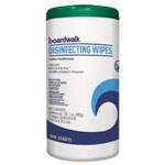 Boardwalk Disinfecting Wipes, 8 x 7, Fresh Scent, 75 per Canister, 6 per Carton