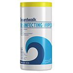 Boardwalk Disinfecting Wipes, 8 x 7, Lemon Scent, 35 per Canister, 12 per Carton