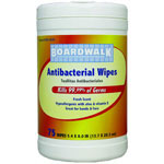 Boardwalk 75 CT Hand and Face Antibacterial Wipes