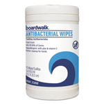 Boardwalk Antibacterial Wipes, 8 x 5 2/5, Fresh Scent, 75 per Canister, 6 per Carton
