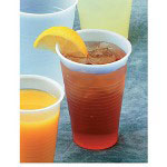 Boardwalk 3 Oz Cold Plastic Cups, Clear, Pack of 25