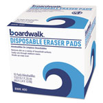 Boardwalk Disposable Eraser Pads, 10/Box