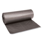 "Boardwalk Super Heavy-Duty Gray Flat-Bottom Trash Bags, 45 Gallon, 0.95 Mil, 40"" x 46"", Case of 100"