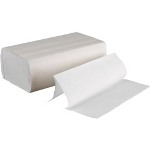 Boardwalk 6200 Multi-Fold Paper Towels, Bleached