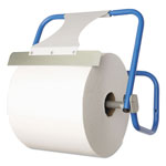 Boardwalk TASKBrand Jumbo Roll Dispenser, Wall-Mount, Blue, 16 1/2 x 11 x 15, Steel