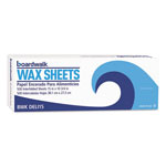 "Boardwalk Interfold-Sheet Deli Paper, 15"" x 10 3/4"", White, 500 Sheets/Box"