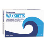 "Boardwalk Interfold-Sheet Deli Paper, 8"" x 10 3/4"", White, 500 Sheets/Box"