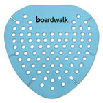 Boardwalk Gem Urinal Screen, Lasts 30 Days, Blue, Cotton Blossom Fragrance, 12/Box