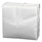 Boardwalk Folded Paper Towels, Guest Towels, 12 x 17, White, 1-Ply, 100/Pack, 500/Carton