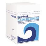 "Boardwalk Jumbo Straws, 7 3/4"", Plastic, Translucent, 500/Pack, 24 Packs/Carton"