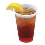 Boardwalk Clear Plastic Cold Cups, 3oz, 125/Pack
