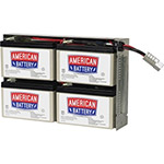 American Battery Company Replacement Battery Cartridge #24 - Maintenance-free Lead Acid Hot-swappable