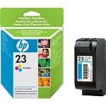 HP 23 Print Cartrid1 x Yellow, Cyan, Magenta 649 Pages