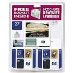 HP C9322FN#140 No. 27 Black Inkjet CartridTwin-Pack, 220 Pages