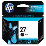 HP 27 Black Ink Cartridge ,Model C8727AN140 ,Page Yield 220