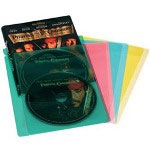 Atlantic Colored Movie Sleeves - DVD Sleeve