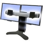 Ergotron LX Dual Display Lift Stand - Stand For Dual Flat Panel