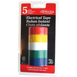 Cantech Industries Electrical Tapes 5 Colors 3.7M