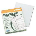 Boise Beware™ Security Paper, Hlthcare, VOID, 8 1/2 x 11, Green