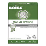 Boise X-9 Multipurpose Paper, 8 1/2 x 11 (Letter), 92 Bright, 20 lb, 500 Sheets Per Ream, Case of 10 Reams