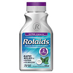 Chattem Rolaids Ultra Strength Tablets f/Heartburn, Mint Flavor, 72/Bottle