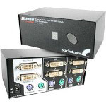 Startech StarView KVM Switch-Dual Display SV221DVIDD - KVM Switch - 2 Ports - 1 Local User