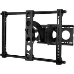 Sanus Systems Sanus VisionMount VMAA18b-01 - Mounting Kit (Wall Plate, Articulating Arm, Bracket) For Flat Panel - Steel, Extruded Aluminum
