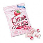 Office Snax Strawberry Creme Savers Hard Candy, 6oz Pack