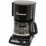 Mr. Coffee 12 Cup Commercial Automatic Drip Coffee Maker, Black