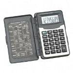 "Compucessory 02196 handheld calculator with cover,8 digit lcd,2 1/2""x4 /10""x1/2"""
