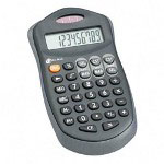 "Compucessory 02197 Soft Grip Calculator, 10 Digit, 2 7/10""x4 4/5""x3/5"""