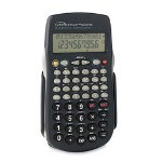"Compucessory 02198 Calculator, HandHeld, Scientific, 2 9/10""x5 1/3""x3/5"", Black"