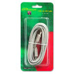 Compucessory 10426 Gray A-B 16' USB Cable, Plug & Play, Gold Plated Contacts