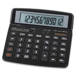 Compucessory 12-Digit Handheld Calculator, Black