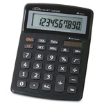 Compucessory 10-Digit Handheld Calculator, Black