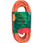 Compucessory Heavy Duty Extension Cord 50', Orange