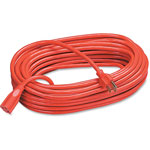 Compucessory Heavy Duty Extension Cord, 100', Orange