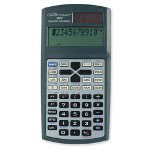 "Compucessory Scientific Calculator, 245 Function, Dual Pwr, 9"" x 5-7/8"" x 1"" CGY"