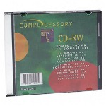 Compucessory CD-RW, Branded Surface, 700MB/80 Minute Cap, 12X Speed