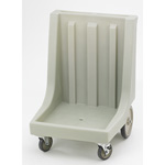 Cambro Camdolly with Handle for Camracks, Light Gray