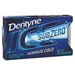 Dentyne Ice® Sugarless Gum, Glacier Mint, 16 Pieces/Pack, 9 Packs/Box