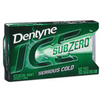 Dentyne Ice® Sugarless Gum, Iceberg Mint, 16 Pieces/Pack, 9 Packs/Box