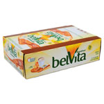 Nabisco belVita Breakfast Biscuits, Peanut Butter Sandwich, 1.76 oz Pack, 8/Box