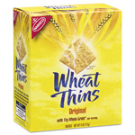 Nabisco Wheat Thins Crackers, Original, 4 oz Box, 12/Carton