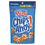Nabisco Chips Ahoy Cookies, Chocolate Chip, 8 oz Snak Sak